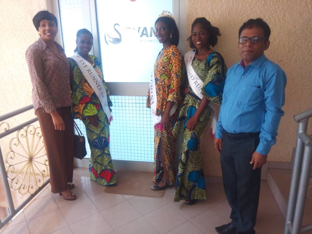 Ms. Ghana Winners Say Thank You to Svani Group Ltd.